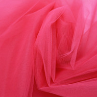"Red 108"" Nylon Tulle"