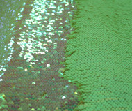 green reversible fishscale