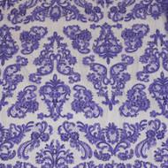 Purple Emb. Beaded My Lady Lace