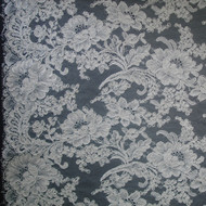 French Alencon Lace - Bianca 72""