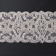 Madeline Beaded Organdy Trim