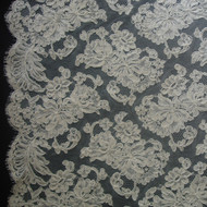 French Alencon Lace - Annabel