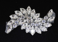 Silver Hurricane Crystal Applique