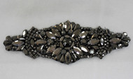 Gunmetal Mini Olivia Crystal Applique