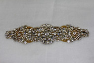 Gold Olivia Crystal Applique