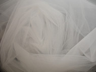 Bridal Tulle - Silk White