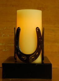 Horseshoes - Metal Candle Holder Luminary