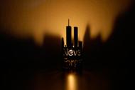911 Memorial / NY Skyline- Metal Candle Holder Luminary