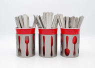 Utensil Metal Holder Set