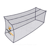 Dynamax Sports Economy Mini Batting Cage Net, 12' x 12' x 35'