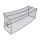 Dynamax Sports Pro Baseball Batting Cage Net, 12' x 12' x 70'