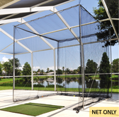Dynamax Sports Golf Cage, 10'h x 10'w x 15'l (Net Only)