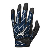 MIZUNO ANTI-SHOCK BATTING GLOVES, NAVY, XX-LARGE
