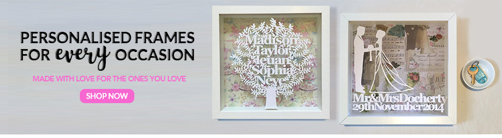 Personalised Box Frames | Hayleigh\'s Frames