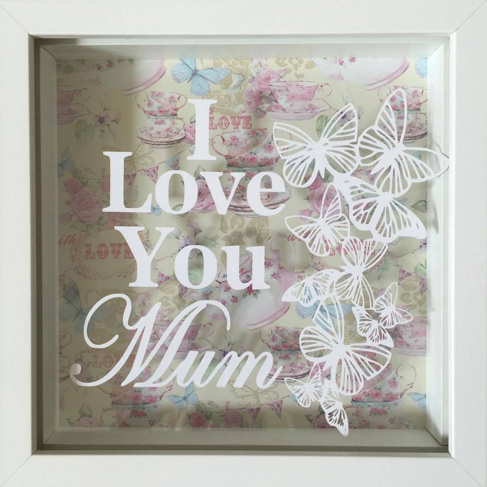 I Love You Mum Frame