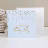 BAMBINO DELUXE CARD - GORGEOUS BABY BOY