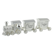 SILVERPLATED TRAIN FIRST TOOTH & CURL SET