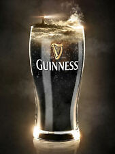 Guinness Glass Retro Sign