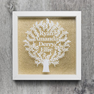Family Tree Frame  Please add up to 8 Names