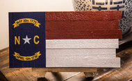 The North Carolina Pinecone Homegrown Flag