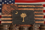 The South Carolina Heritage Flag