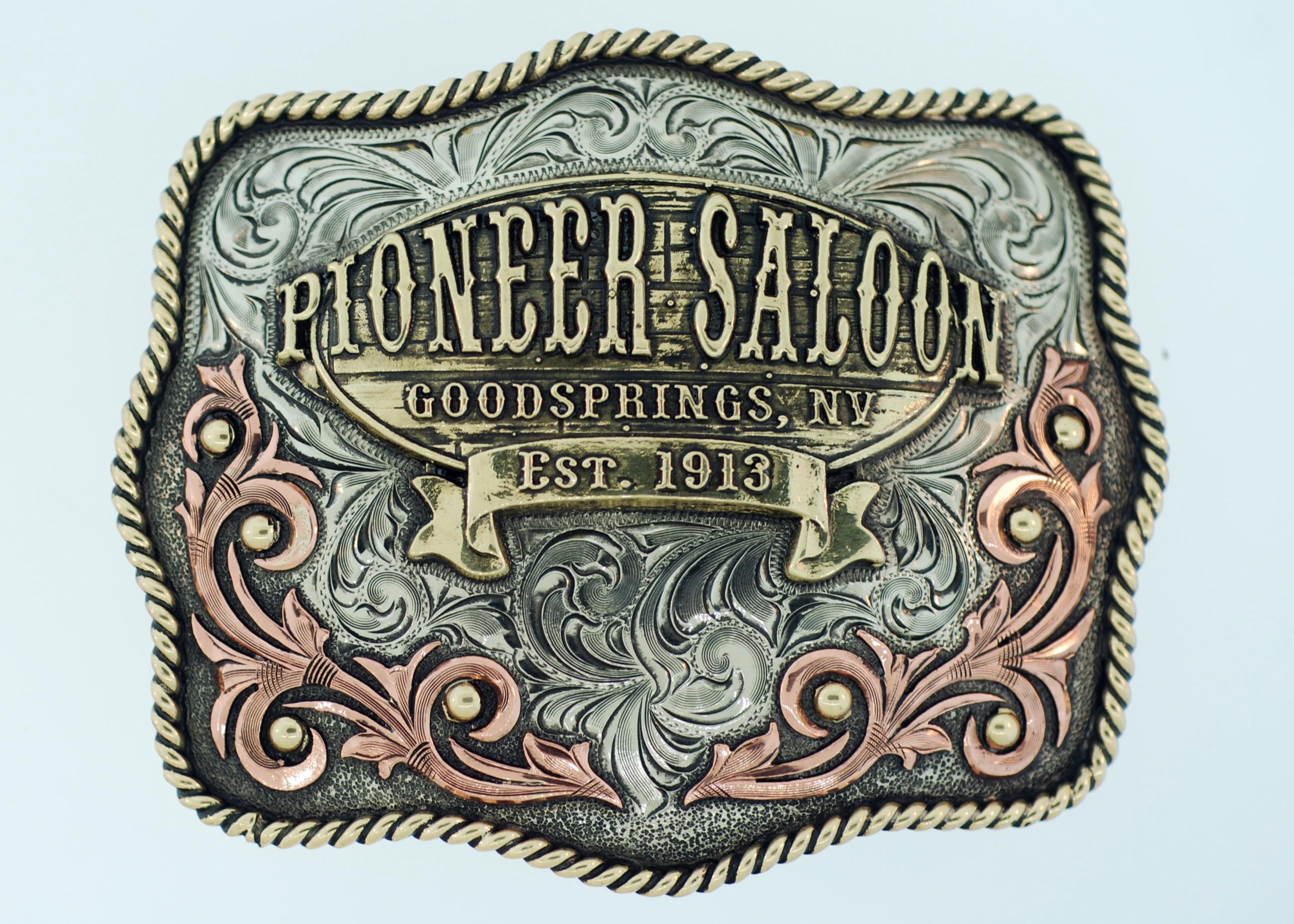 Pioneer Saloon Signature Buckle
