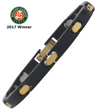 2017 BNP Paribas Open Player's Black Stainless/18k
