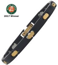 2017 BNP Paribas Open Player's Black Stainless/18k