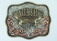 Pioneer Saloon Signature Buckle
