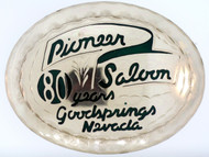 Pioneer Saloon 80th Anniversary Buckle