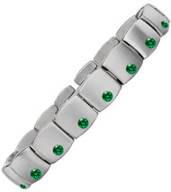 Gent's Titanium with Emeralds