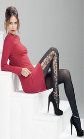 Bellissima Collant Moulin Rouge Tights