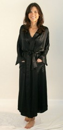 Simply Silk Silk Dressing Gown