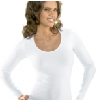 Bellissima Long Sleeve Scoop Neck