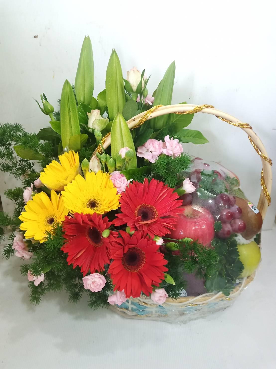 กระเช้าแห่งความห่วงใย ใส่ใจในสุขภาพของคนที่คุณรักด้วยผลไม้สดตามฤดูกาลกันนะคะ