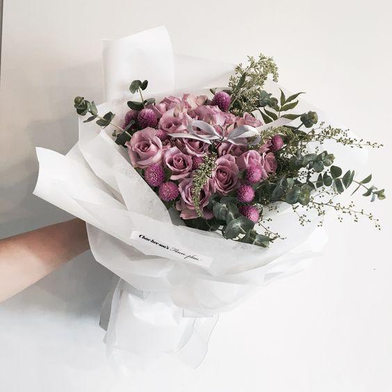 ช่อดอกไม้สไตล์เกาหลีแบบที่ 2