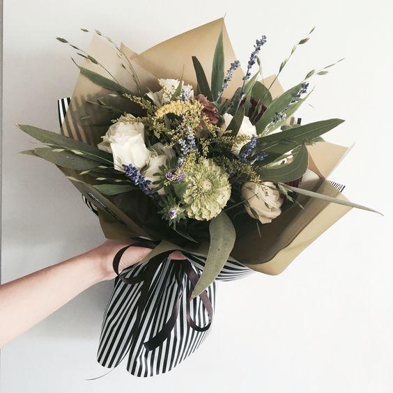 ช่อดอกไม้สไตล์เกาหลีแบบที่ 3