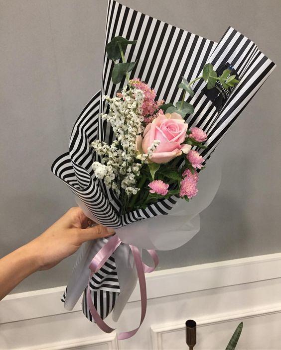 ช่อดอกไม้สไตล์เกาหลีแบบที่ 4