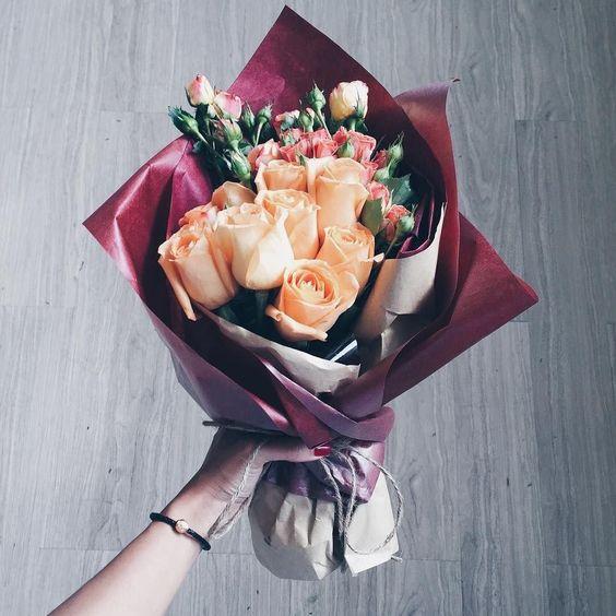 ช่อดอกไม้สไตล์เกาหลีแบบที่ 5