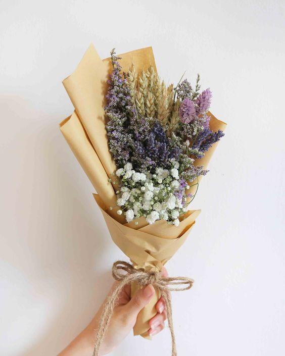 ช่อดอกไม้สไตล์เกาหลีแบบที่ 6