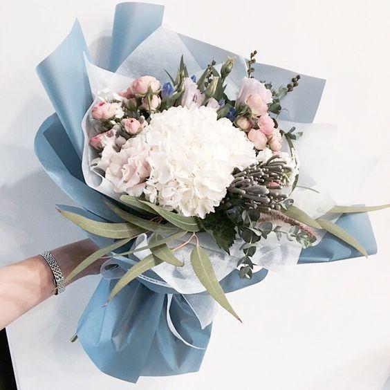 ช่อดอกไม้สไตล์เกาหลีแบบที่ 7