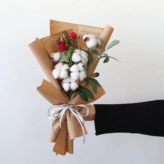 ช่อดอกไม้สไตล์เกาหลีแบบที่ 8