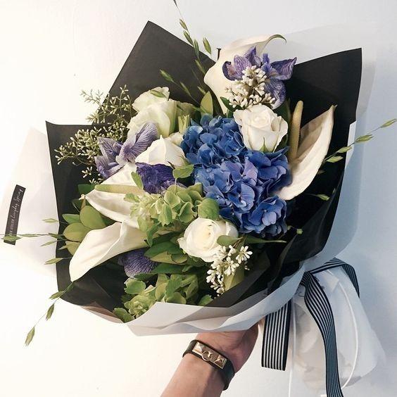 ช่อดอกไม้สไตล์เกาหลีแบบที่ 10