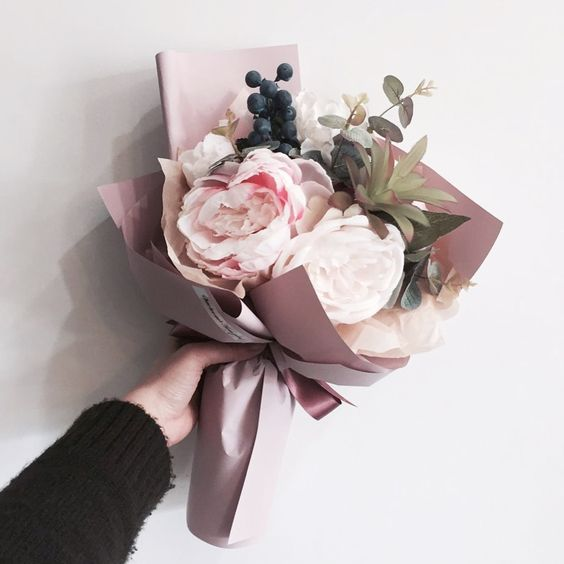 ช่อดอกไม้สไตล์เกาหลีแบบที่ 11