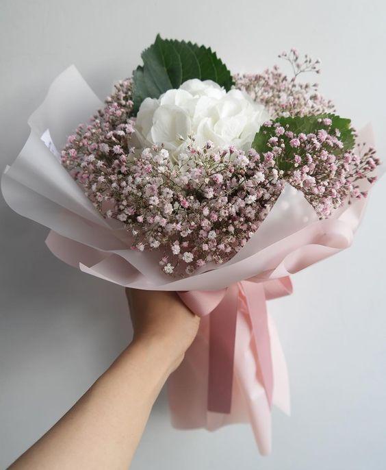 ช่อดอกไม้สไตล์เกาหลีแบบที่ 13