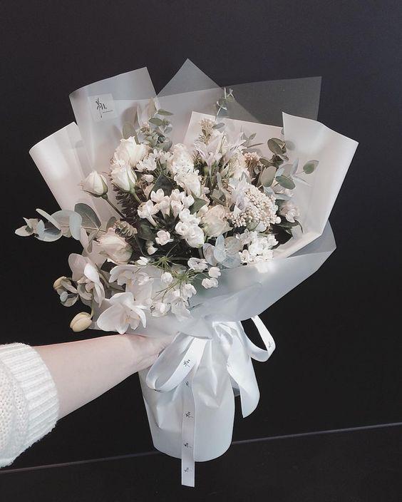 ช่อดอกไม้สไตล์เกาหลีแบบที่ 14