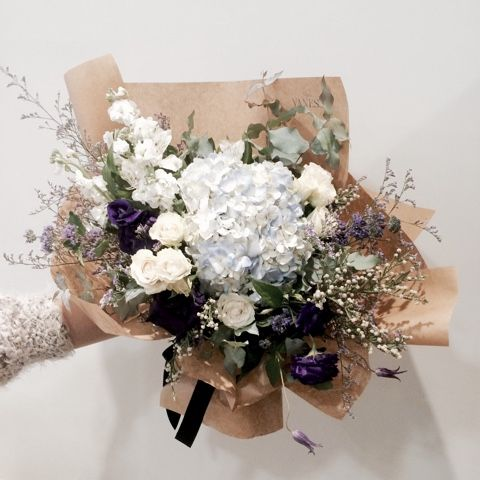 ช่อดอกไม้สไตล์เกาหลีแบบที่ 15
