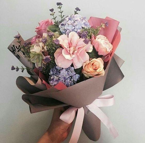 ช่อดอกไม้สไตล์เกาหลีแบบที่ 16