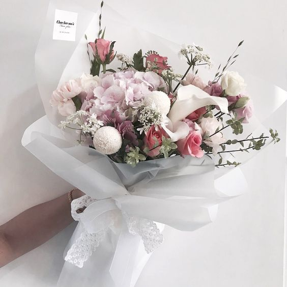 ช่อดอกไม้สไตล์เกาหลีแบบที่ 17