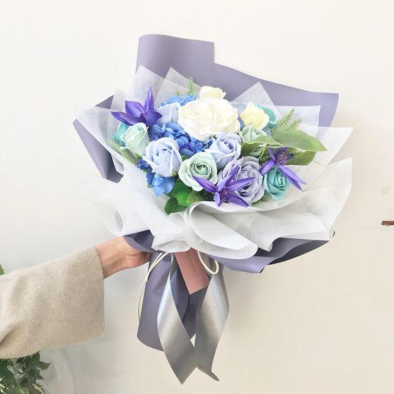ช่อดอกไม้สไตล์เกาหลีแบบที่ 18